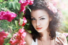 Red roses fashion Royalty Free Stock Photos