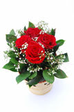 Red roses for mothers day Royalty Free Stock Image