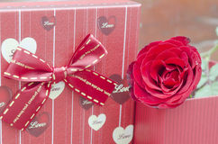 Red roses for someone you love Royalty Free Stock Images