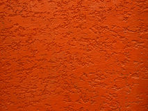 Red rough cement wall texture Stock Image