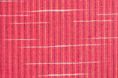 Red rough Fabric Texture Royalty Free Stock Photos