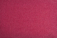 Red rough fabric. Red fabric weave detail texture Stock Photo