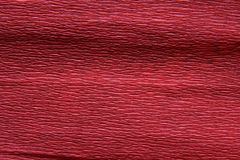 Red rough paper. Red rough decorative paper macro Royalty Free Stock Photos