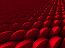 Red Round Shapes Design Wallpaper Background Stock Photo