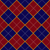 Red Royal Blue Diamond Background Stock Photography