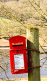 Red Royal Mail Mailbox Royalty Free Stock Photos