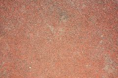 Red rubber floor Royalty Free Stock Photography