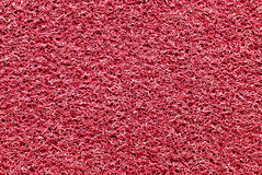 Red rubber mat stock image