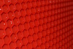 Red rubber Mat Royalty Free Stock Photo