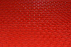 Red rubber Mat Royalty Free Stock Image