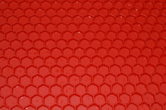 Red rubber Mat Royalty Free Stock Photography