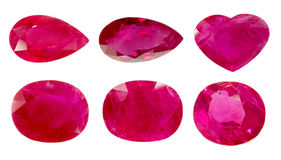 Red ruby Royalty Free Stock Images