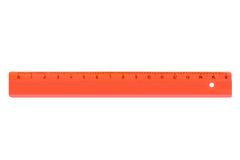 Red ruler Royalty Free Stock Photos