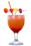 Red Rum Swizzle Stock Photo