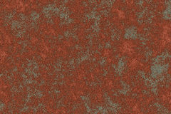 Red rust. On metall background Stock Images