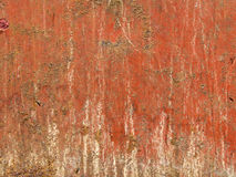 Red Rust Background Stock Photography