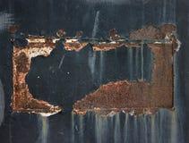 Red Rust Grunge Textured Background. Red Rust Grunge Textured and dark Background Stock Photography