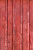 Red Rustic Board and Batten Barn Wood Background Stock Image