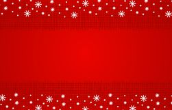 Red Rustic Christmas Background Royalty Free Stock Photos