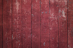 Red Rustic old wood background. Backdrop Royalty Free Stock Photos