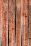 Red Rustic Weathered Barn Wood Board Background Stock Image