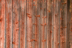 Red Rustic Weathered Barn Wood Board Background Royalty Free Stock Photo