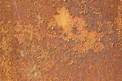 Red rusty abstract texture of old iron Stock Photos
