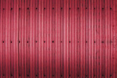 Red rusty corrugated iron metal texture Royalty Free Stock Image