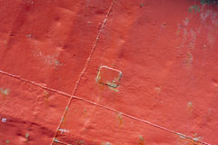 Red rusty metal texture Stock Photography