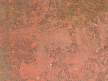 Red rusty surface Stock Image