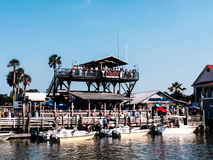 Red's Ice House, Shem Creek, Charleston, SC. Royalty Free Stock Photos