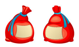 Red sack Stock Photos
