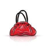 Red sad bag Royalty Free Stock Image