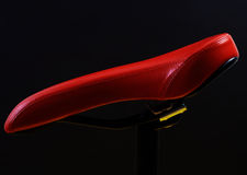 Red saddle Stock Images