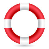 Red safe guard ring Royalty Free Stock Images