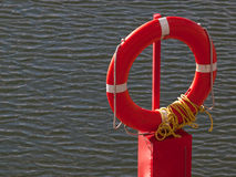 Red Safety Buoy Stock Image