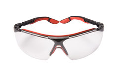 Red safety glasses Stock Images