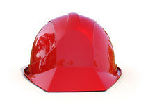 Red safety helmet Royalty Free Stock Photo