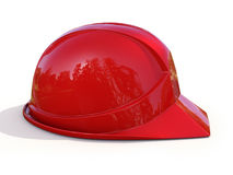 Red safety helmet Royalty Free Stock Images