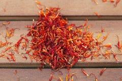 Red saffron Stock Image