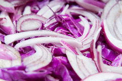 Red salad Royalty Free Stock Images