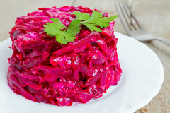 Red salad Royalty Free Stock Photo