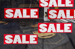 Red Sale Sign Stock Images
