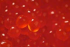 Red salmon caviar Stock Photo