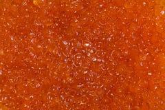 Red salmon caviar texture background royalty free stock photos