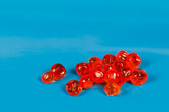 Red salmon roe Stock Photos