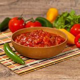 Red Salsa Stock Images