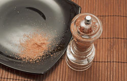 Red salt Stock Photography