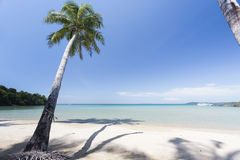 Red sand beach in Kood island of Ao Thai Royalty Free Stock Images