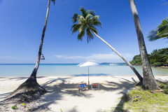 Red sand beach in Kood island of Ao Thai Royalty Free Stock Photography